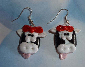 Moo Cow Earrings