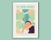 Movie poster The Virgin Suicides 12x18 inches retro print