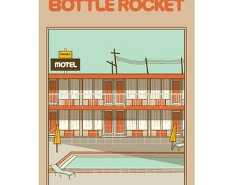 Bottle Rocket movie poster in various sizes