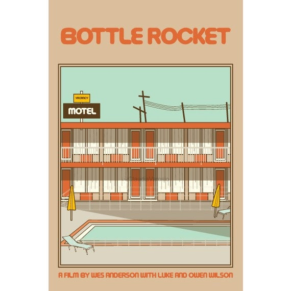 Bottle Rocket 12x18 inches movie poster