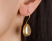 Fools Gold Drop Earrings