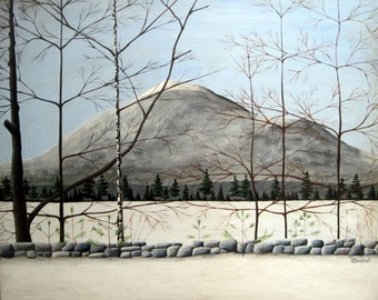 Mt. Monadnock Giclee Print by Tim Campbell