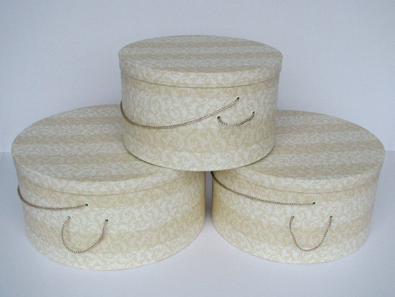 Sale 99 Free Shipping X Large Hat Boxes Elegant Striped