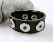 Cocobeads Interchangeable Genuine Leather Bracelet for Poppers/Chunks (1)