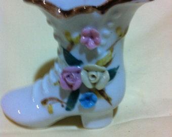 Porcelain High Heel Shoe