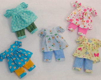 Top/Capri Set- Other fabrics available!  LTFee, YoSD, Tella, Tia, BID, KWiggs & other Tiny BJD