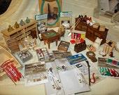 Destash Dollhouse/Miniature Country Store  LARGE Lot 111