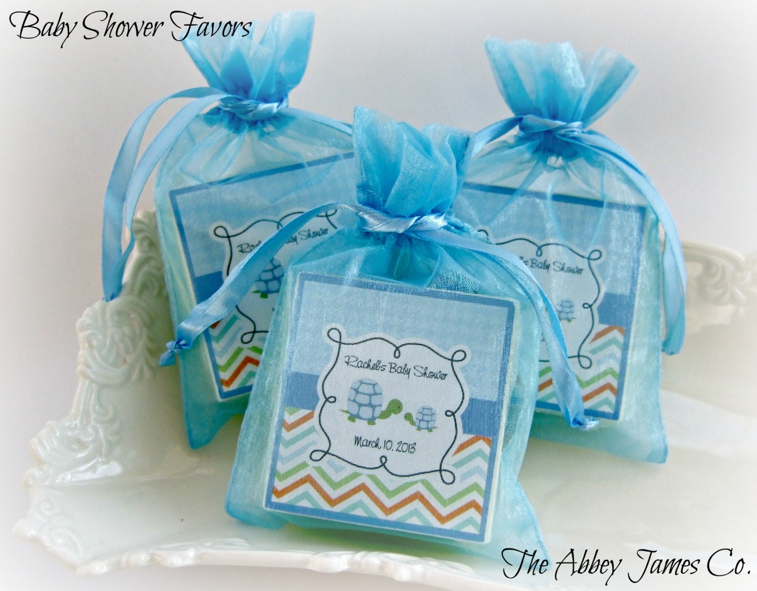 baby boy shower favors soap favors turtle shower favors