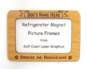 Dogue de Bordeaux  Dog Magnet Picture Frame