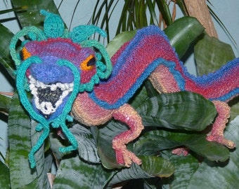 Charming Chinese Dragon Knitting Pattern
