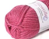 Pink Felting Wool Yarn Uni 19