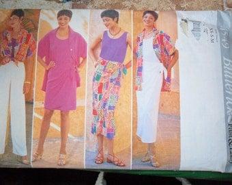 Butterick Pattern 4549 MIsses Petite Shirt top skirt and pants UNused sizes XS thru Medium