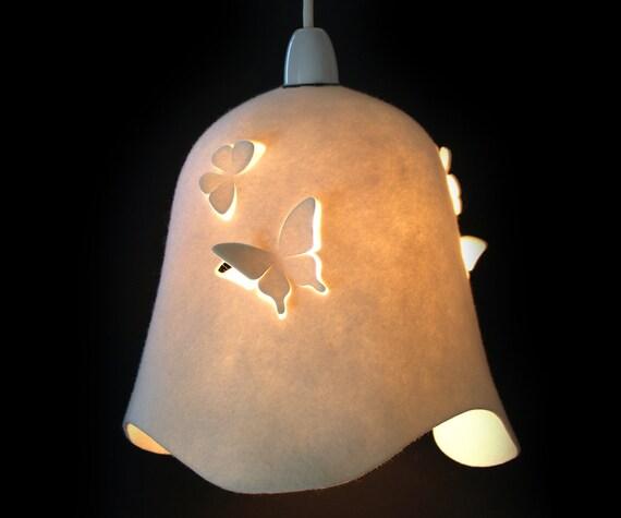 DELIGHT BELLE Wool Felt Butterfly  - LAMPSHADE -