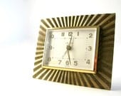RESERVED FOR STEPHANIE Vintage Art Deco Seth Thomas Wind Up Alarm Clock