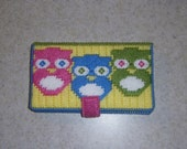 Owl Trio Wallet PATTERN ONLY