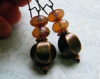 In the Harmon -  Vintage Inspired Dangling Earrings