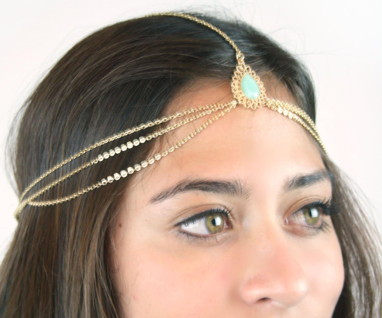 Etsy Chain Headpiece Chain Headpiece Chain