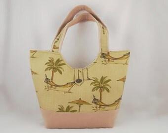 Naomi 09 Suede Fabric Purse Crafty Bag