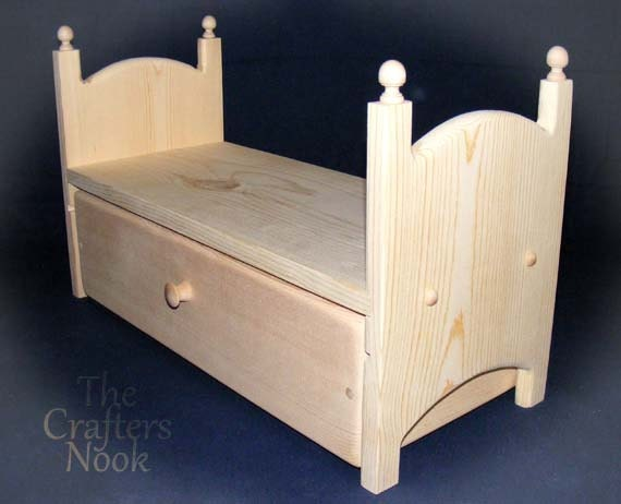 Boat Bed With Trundle And Toy Box Storage: Kids Toy Doll Bed With Storage Drawer Or Trundle Bed 18