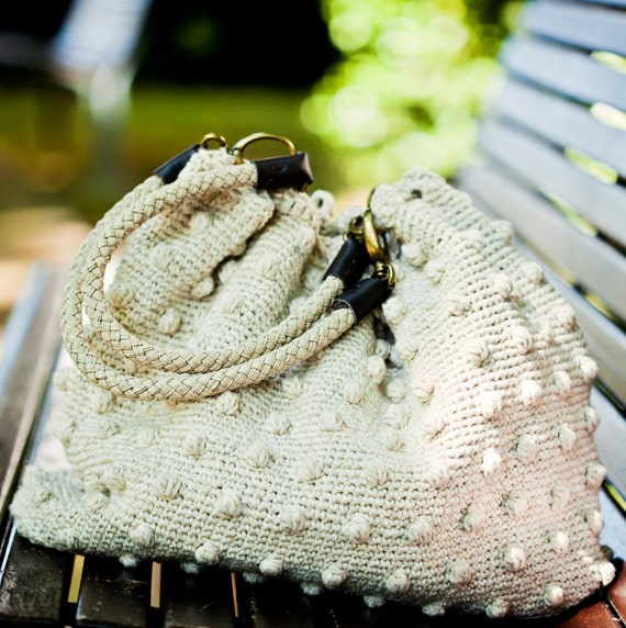 Instant download - Crochet PATTERN (pdf file) - Summer Style Bag