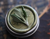 Chaparral natural solid perfume round MAN TIN - For Dad and/or the Naturalist - Cowboy Perfume - California Wild Wood and Sage - IlluminatedPerfume