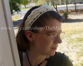The Jean - Celtic Knot Headband - In Cream