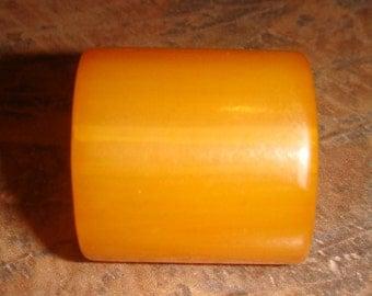 Large Bakelite Barrel Button