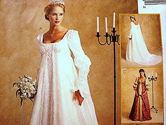Ever after dress renaissance wedding gown costume dress for Ever after wedding dress
