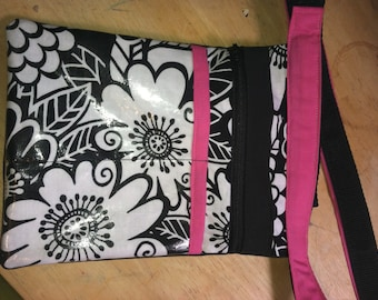 Fabric in stock Custom Adjustable Utility Belt, Hipster, Tool Belt  With Laminated Pocket, zipper pocket and Slide Clip Buckle