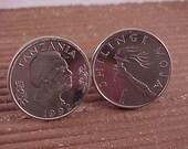 Tanzania Coin Cuff Links - Free Shipping to USA