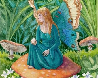 Forgotten Summer- A Fantasy Art Print