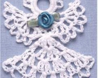 Thread Ornament Set 1 Crochet Pattern PDF