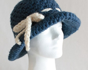 Wool Crusher Hat Crochet Pattern PDF