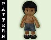 Crochet Pattern - Amigurumi Jacob Doll II