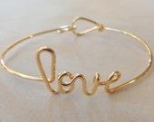 Love bracelet 14kt g.f.