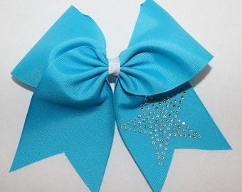 BIG Bow Cheerleading rhinestone star by Funbows