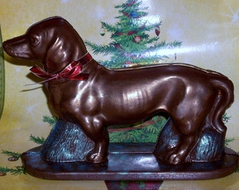 3 D Chocolate Dachshund