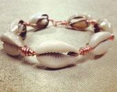 Cowry Shell Wristwear...