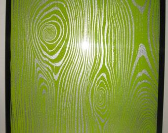 Magnet Dry Erase Steel Memo Board / Housewarming Gift / Office Decor / Organization / Coworker Gift / Desk Accessories / Message Board/ Lime