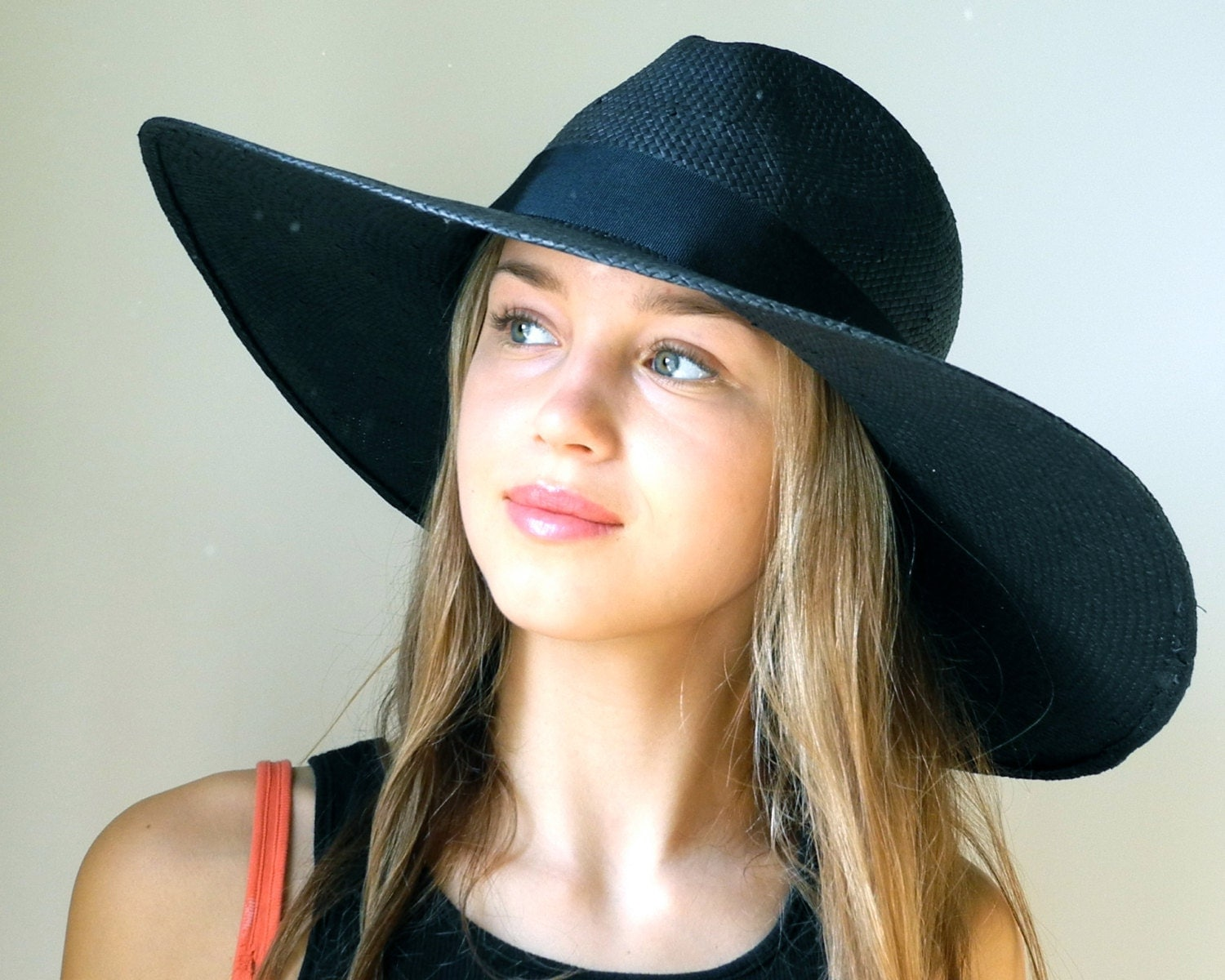 Wide Brimmed Fedora Hat Women Spring Fashion by KatarinaHats