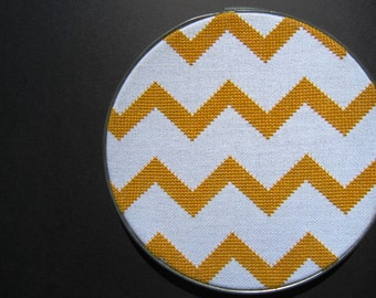 Chevron modern cross stitch pattern