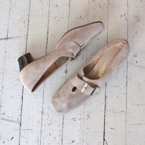 1960s shoes / 60s shoes / Mineral Shale shoes