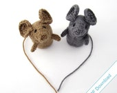 Mouse Knitting Pattern Download. Knit Your Own Small Creature