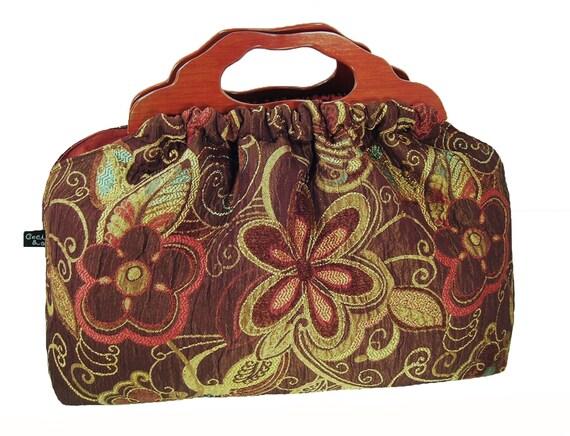 Top Seller - The Knitting Bag - Flower Power - Made to Order