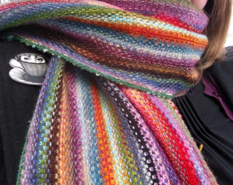 Mini Mania Scarf - Free Knitting Pattern - Digital PDF or PRINT