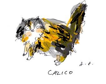 Custom Pet Portrait- by The Dancing Cat- Custom Cat Gift- Funny Cat Gift