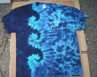 Ocean Swirls Tie Dye Size XL