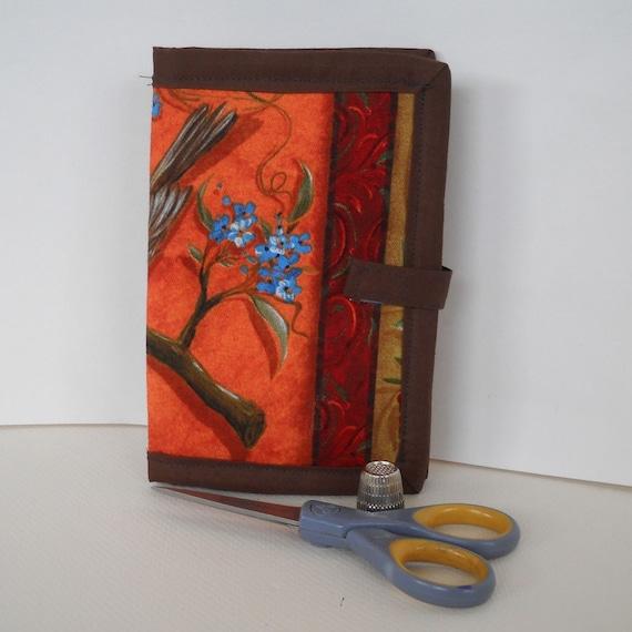 Autumn Birds Felt Needle Book Sewing Kit SALE