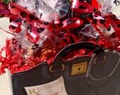 Gourmet Dog Treats - Deluxe Get Well Gift Basket - Dog Treats Organic All Natural Gourmet Vegetarian - Shorty's Gourmet Treats