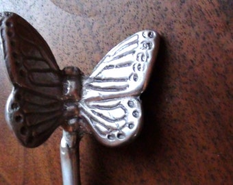 MARIPOSA Knife Letter opener Aluminum Art  can be use as Paper weight or Butter Knife   On Clearance Now